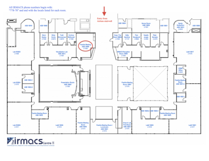 IRMACS Floorplan